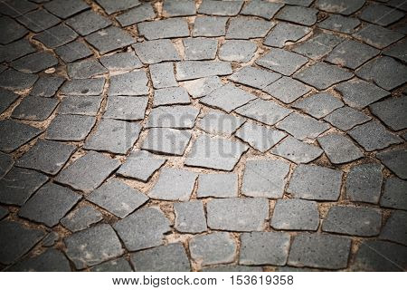 Cobble Road, Stone Street Pavement