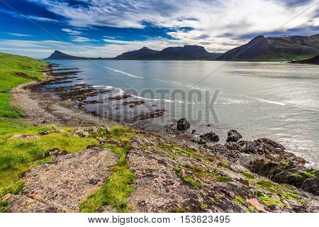 Western Fjords And Arctic Sea In Iceland