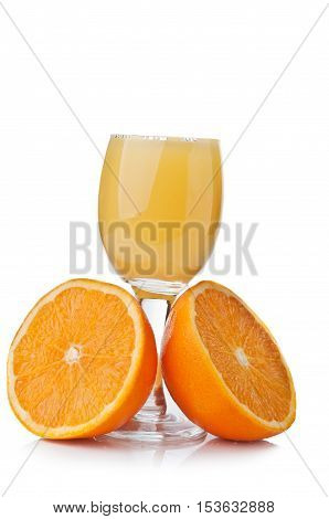 Fresh Orange And Juice