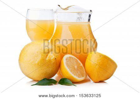 Fresh Lemons And Juice