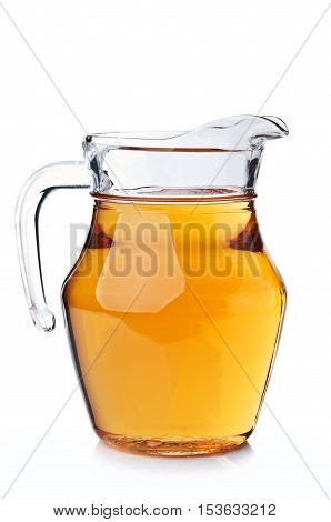 Carafe Full Of Apple Juice