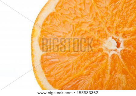 Closeup Of Fresh Orange
