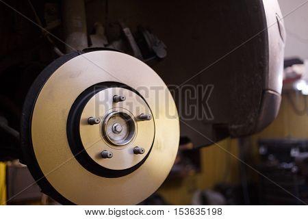 Brake system of automotive by preventive maintenance job