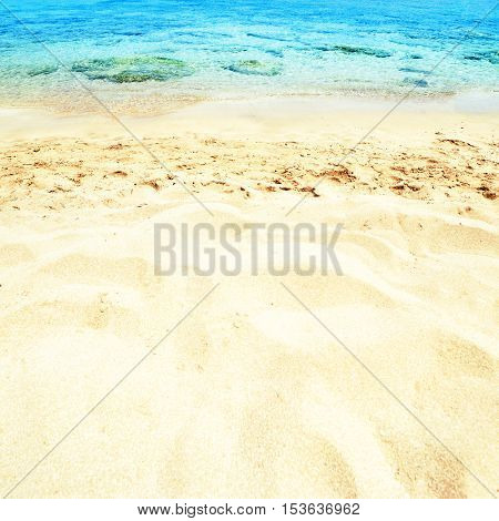 Beautiful Sea sand sky and summer day - Travel tropic resort