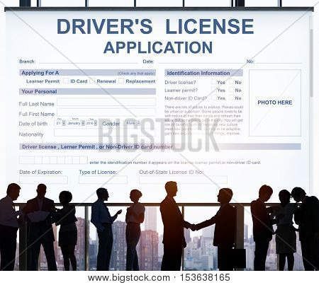 Driver's License Application Identification Concept