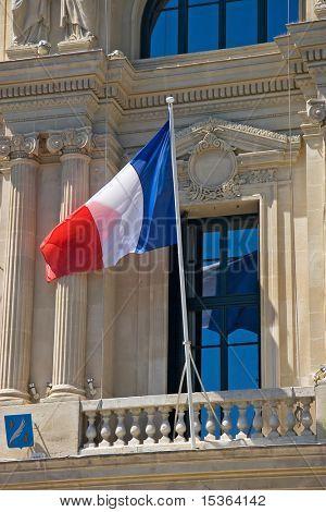 France flag. Nicca.