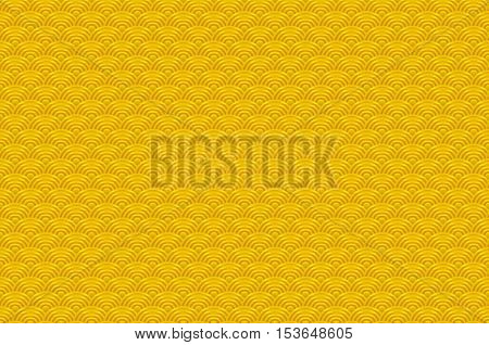 Chinese Yellow Gold Seamless Pattern Dragon Fish Scales Simple Seamless Pattern Nature Background Wi