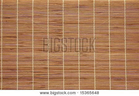 Wattled wood pattern as background.