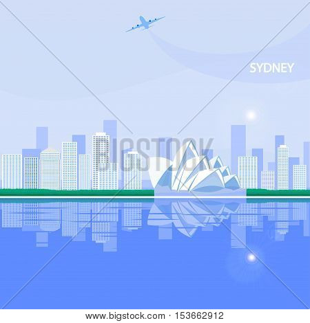Sydney is the state capital of New South Wales and the most populous city in Australia and Oceania.