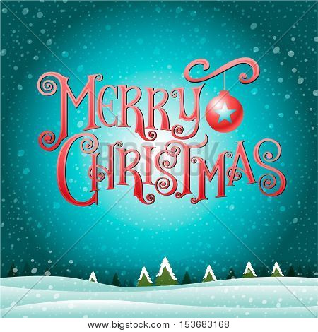 merry christmas& happy new year Type background & texture