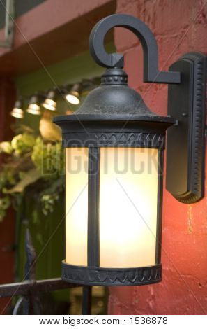 Modern Lamp With Old Feel.