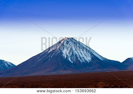 Licancabur volcano on the Atacama Desert Northern Chile