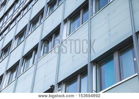 Abstract Facade Of Modern Office