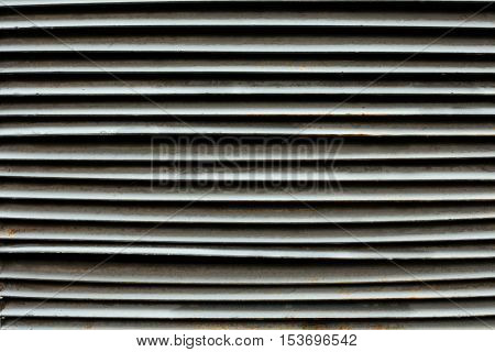 Shopwindow venetian metal blinds as a background