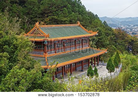 Temple , Chinese architecture in Meizhou