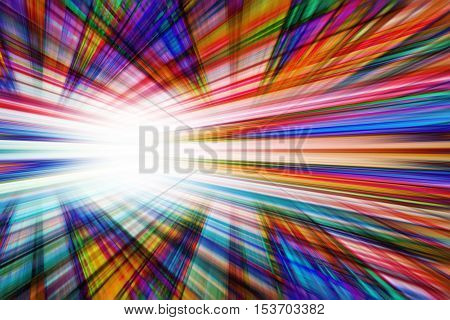 A fun colourful dynamic converging lines background