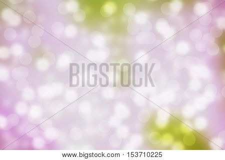 Blurred natural bokeh abstract pink background for Christmas and holidays design
