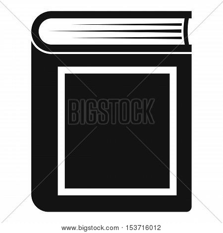 Thick book icon. Simple illustration of thick book vector icon for web