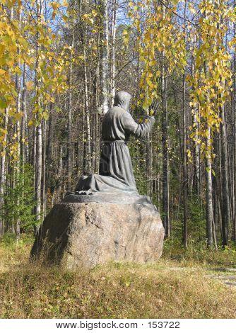 Saint Seraphim From Sarov