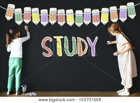 Study Education School Learning Concept