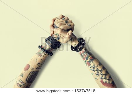 Art Creative Design Tattoo Concept