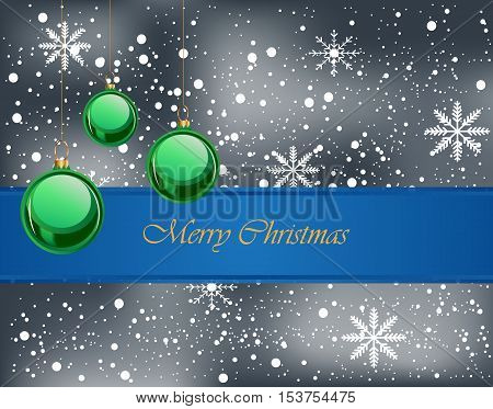 Merry Christmas background for your invitations, festive posters, greetings cards.