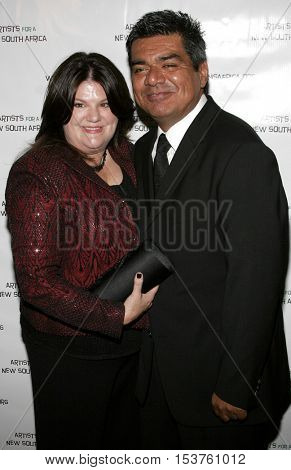 George Lopez at the Archbishop Desmond Tutu's 75th Birthday Party held at the Regent Beverly Wilshire Hotel in Beverly Hills, USA on September 18, 2006.