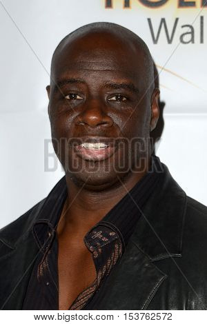 LOS ANGELES - OCT 25:  Isaac C. Singleton Jr. at the Hollywood Walk of Fame Honors at Taglyan Complex on October 25, 2016 in Los Angeles, CA