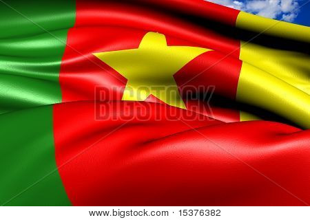 Flag Of Cameroon