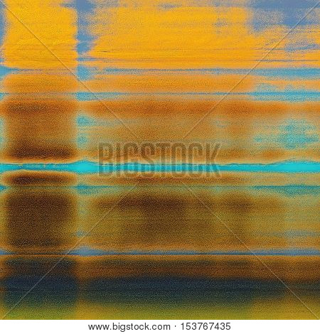 Cute colorful grunge texture or tinted vintage background. With different color patterns: yellow (beige); brown; blue; red (orange); cyan