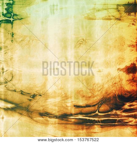 Nice looking grunge texture or abstract background. With different color patterns: yellow (beige); brown; green; red (orange); white; black