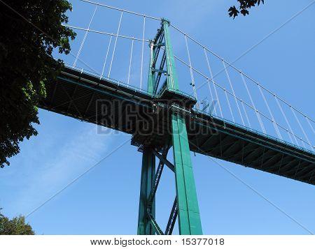 Lion Gate Bridge Vancouver.