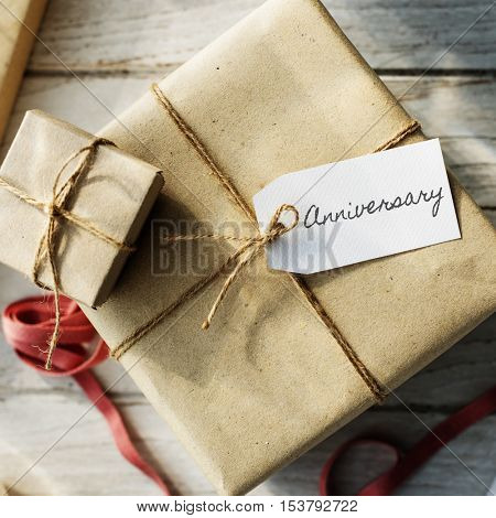 Objects Gift Presents Package Concept