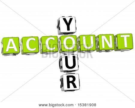 Your Account Crossword