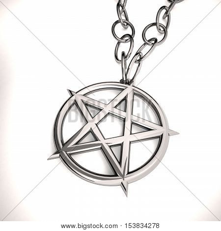 Necklace With Pentacle