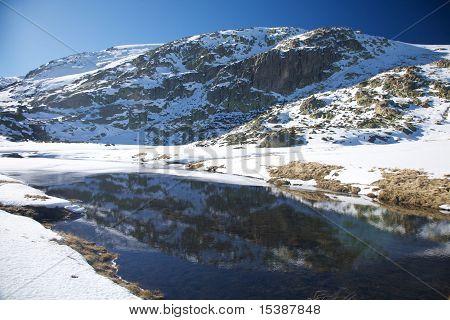 Lake Snow Mountain