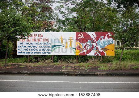 Billboard Central Vietnam