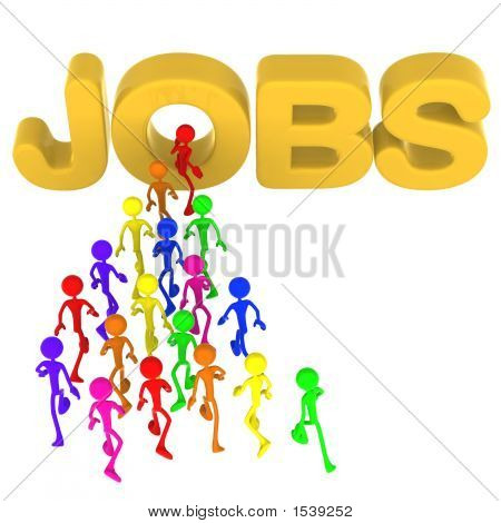 Full Spectrum Jobs Employment Search Concept