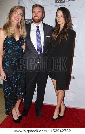 LOS ANGELES - OCT 27:  Claire Murray, Chad Murray, Troian Bellisario at the 2016 Visionary Ball at Beverly Wilshire Hotel on October 27, 2016 in Beverly Hills, CA
