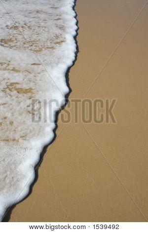 Ocean Foam And Sand - 1