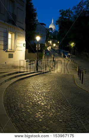 Place Dalida in Montmartre Paris Ile-de-france France