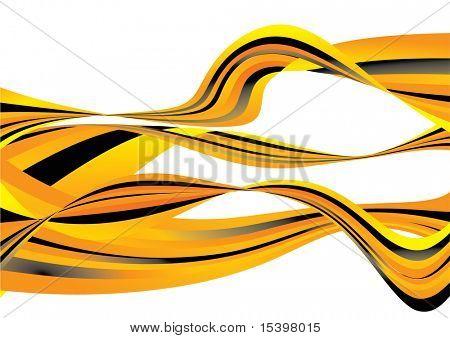 Vector fractal background #6