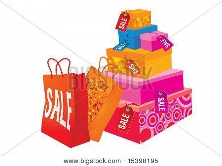Sales season #4. Vector illustration