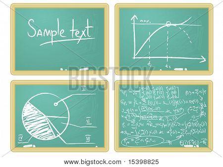 Blackboard. Vector