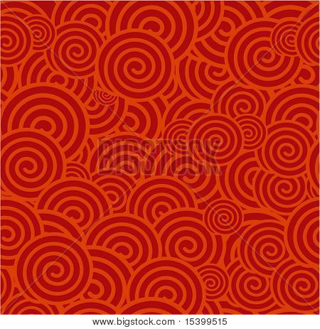 China red vector seamless background