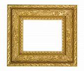 Vintage gold ornate frame,