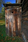 picture of outhouses  - Vintage toilet - JPG