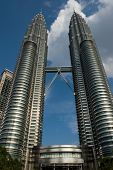 stock photo of klcc  - klcc twin tower - JPG