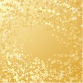 picture of gold glitter  - Gold star background - JPG