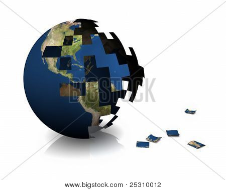 Earth Construction, 3D Puzzle